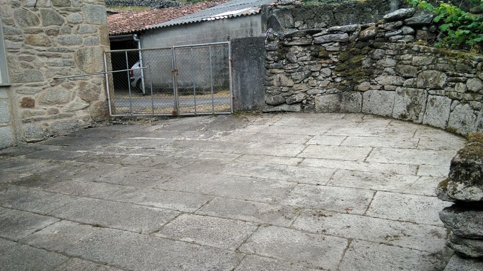 Eira da Vilara, en Santa Cristiña
