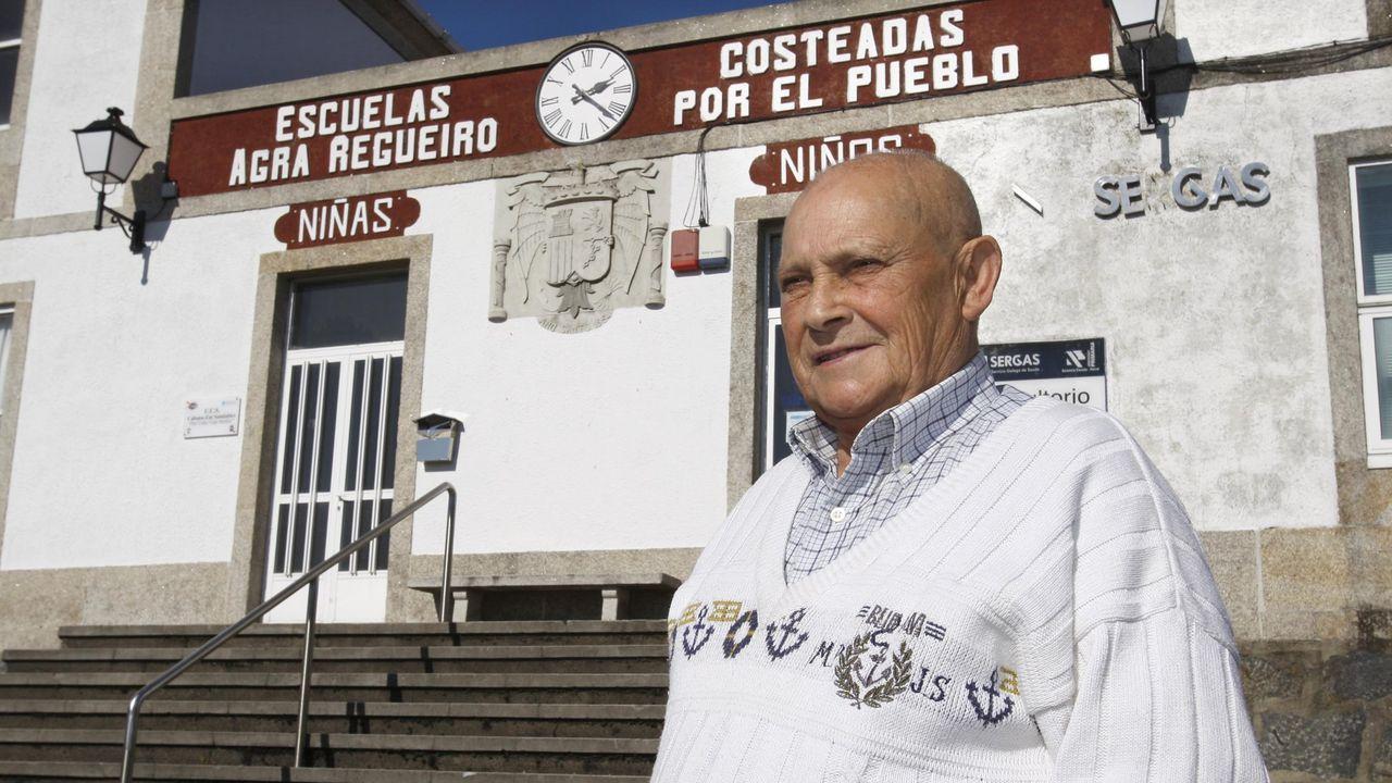 Ramón Mariño, cantando no seu 101 aniversario