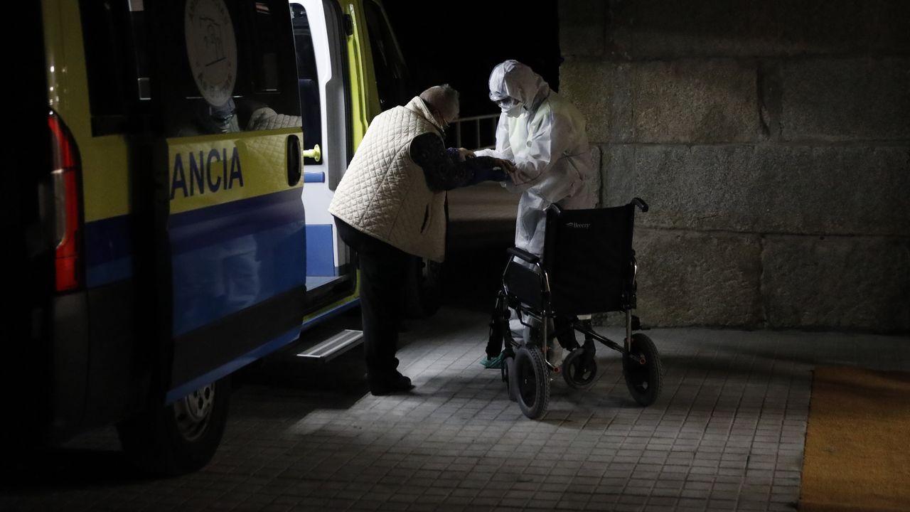 Los mayores afectados por coronavirus fueron trasladados a la residencia de Baños de Molgas