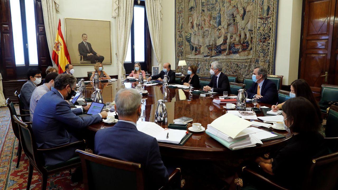 EUROPA PRESS.Meritxell Batet preside este miércoles la Mesa del Congreso, la primera del nuevo curso político