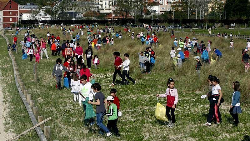 Voznatura en Moaña.Greenpeace ha recurrido el fallo de TSJA ante el Tribunal Supremo.
