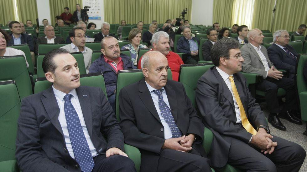 Inauguración de las XornadasTécnicas de Expomar.Como otros años, las jornadas se celebrarán en la cofradía.