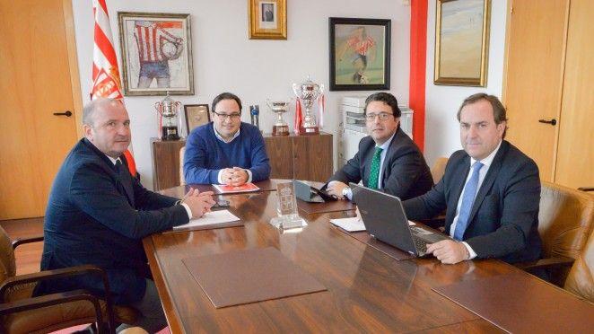 Consejo de administración del Real Sporting, Martínez, Fernández, Losada, De Santiago