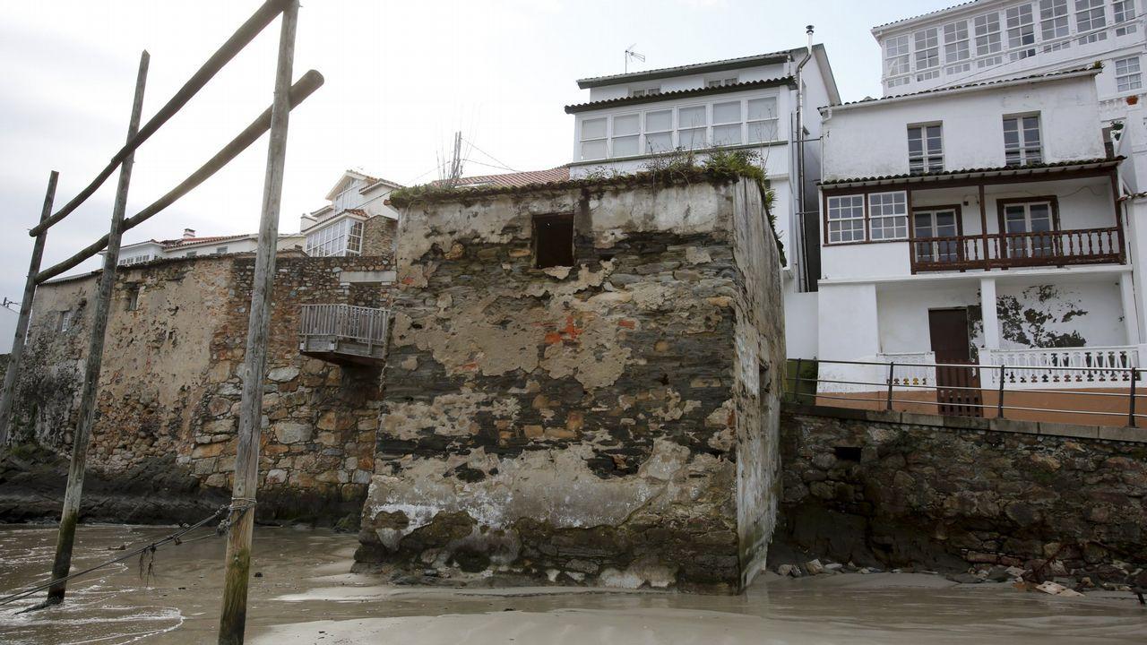 La restauración del alboio de Quinín, en Redes, se financia con las ayudas europeas que gestiona el GALP Costa Ártabra Norte