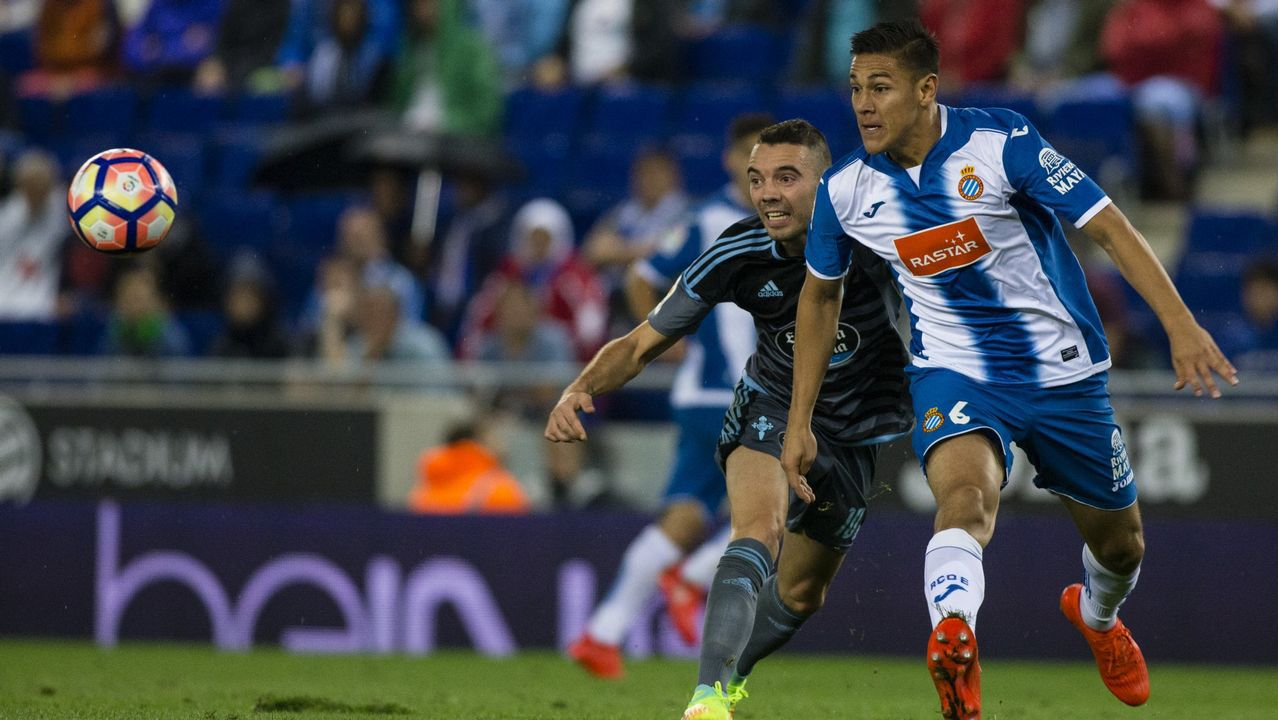 200 - Espanyol-Celta (0-2) de Primera el 25 de septiembre del 2016