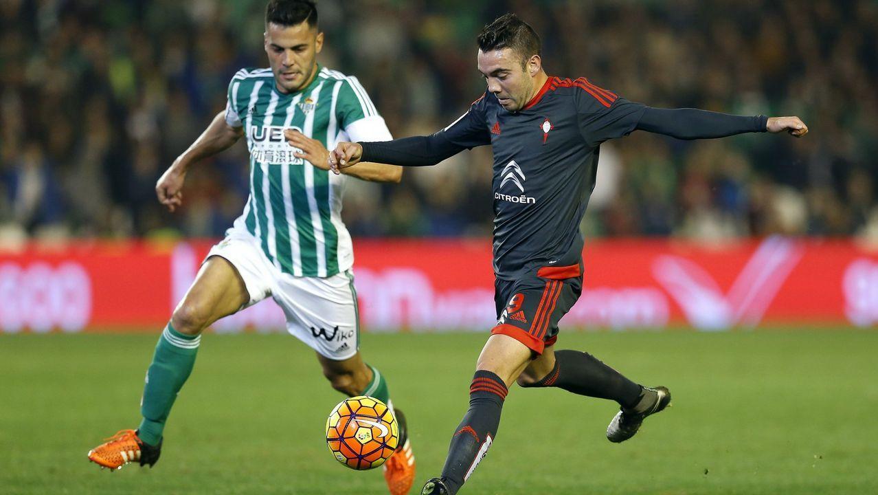 168 - Betis-Celta (1-1) de Primera el 5 de diciembre del 2015