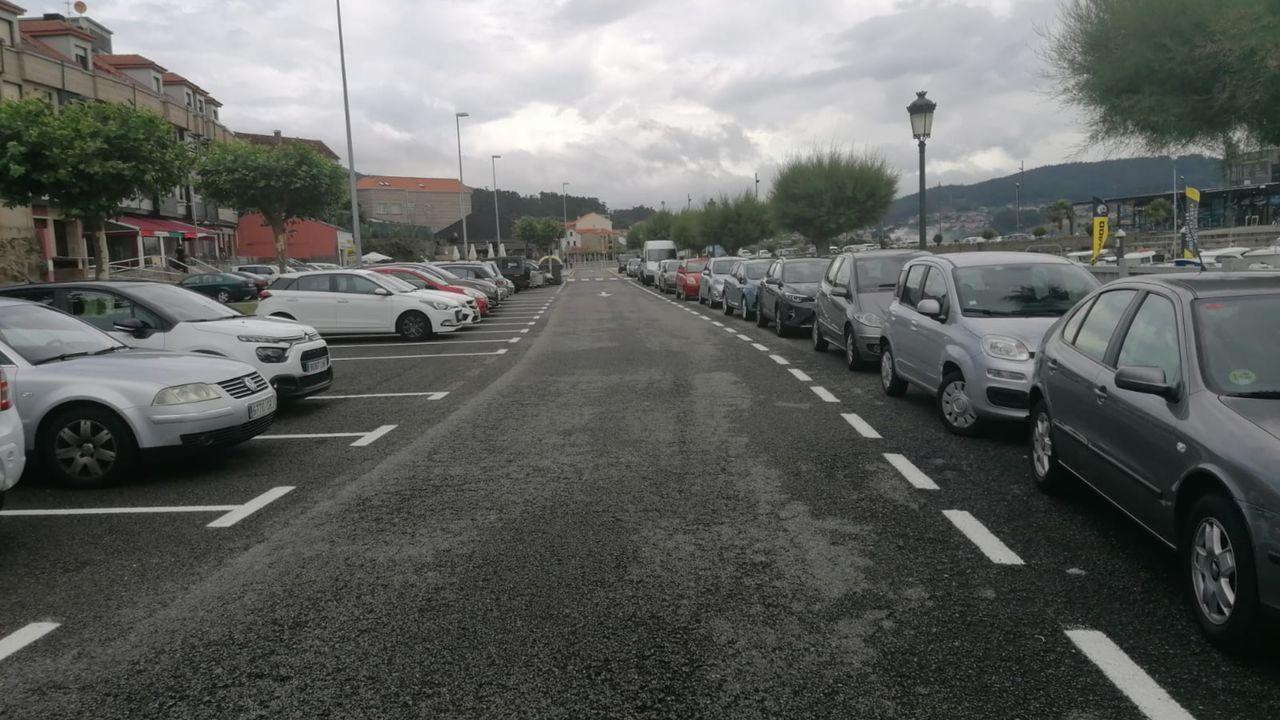 Portos de Galicia descartó habilitar plazas para residentes en el Paseo das Redeiras