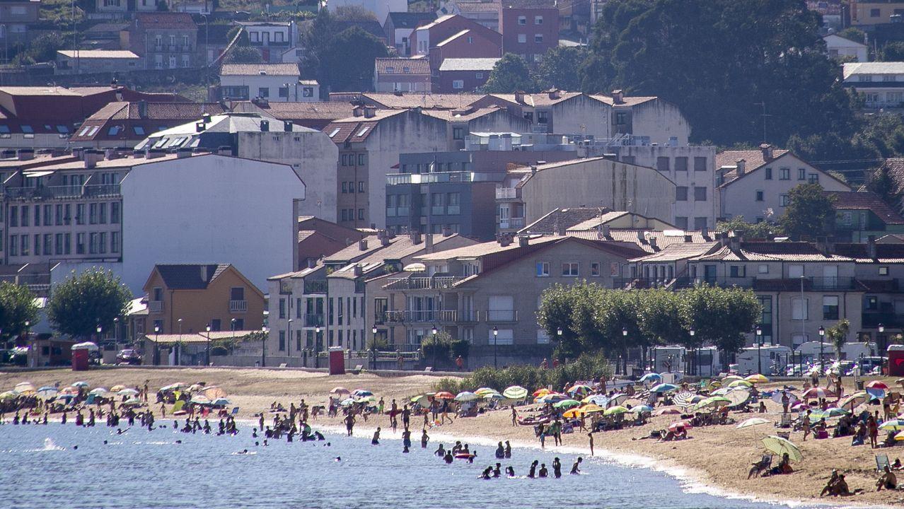 En la zona ribeirense de Coroso se ubican un gran número de edificios de segundas residencias