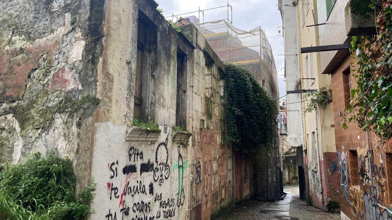 Planos del Concello de Lugo para el proyecto de expropiación de los terrenos de Infanta Helena