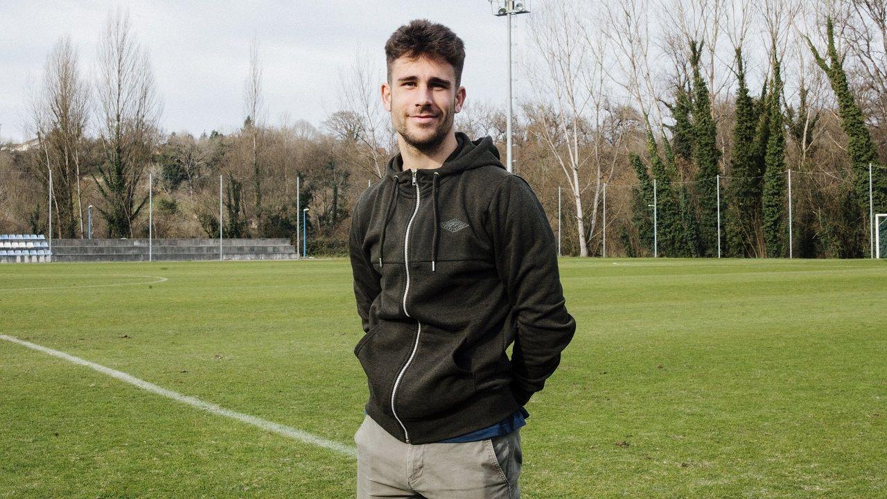 Víctor califica de «injusto» e «indigno» su despido del Málaga.Jimmy Suárez, en El Requexón