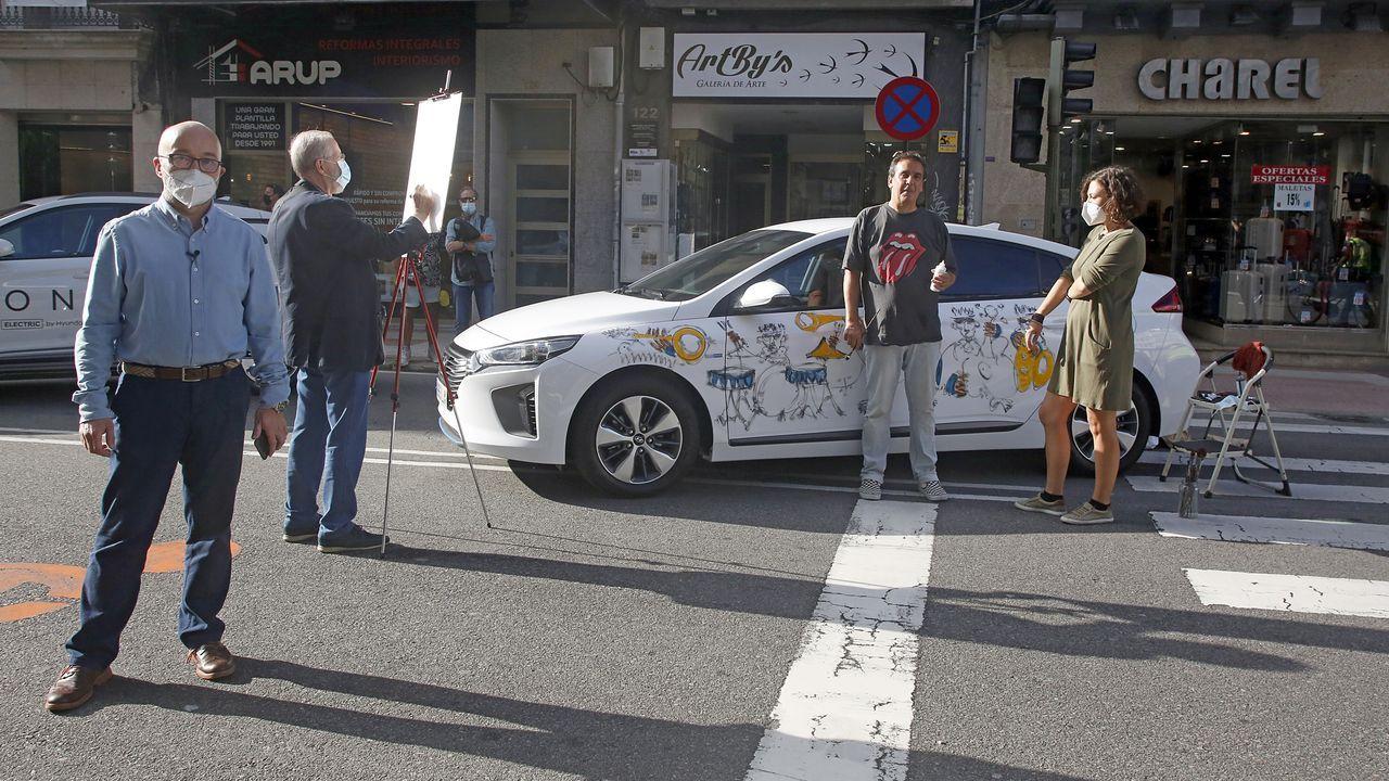 Un alumno del IES Eusebio da Guarda de A Coruña explica en un vídeo cómo proceder en el centro