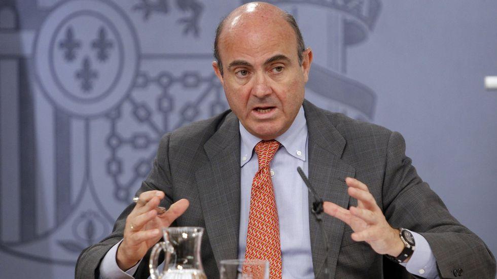 Hacienda acusa a Rato de defraudar 6,8 millones.Luis de Guindos, en una imagen de archivo