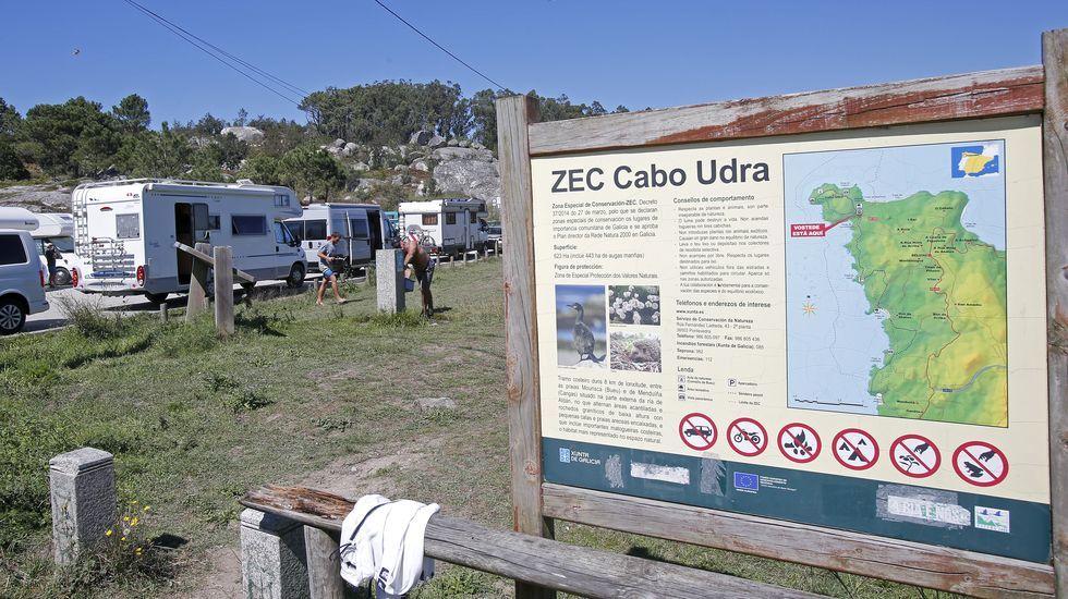Cabo Udra y las playas de su entorno