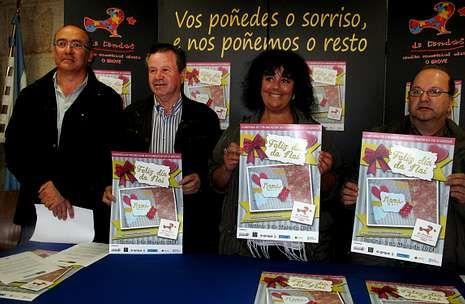 La directiva de Emgrobes y la concejala Aida Filgueira presentaron ayer la nueva campaña.