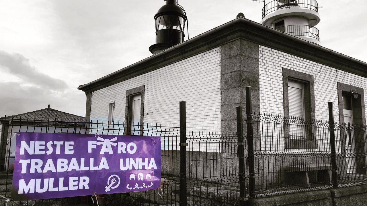 Primer día de desescalada enA Mariña.Un momento del cribado de covid realizado en O Vicedo el pasado 24 de enero