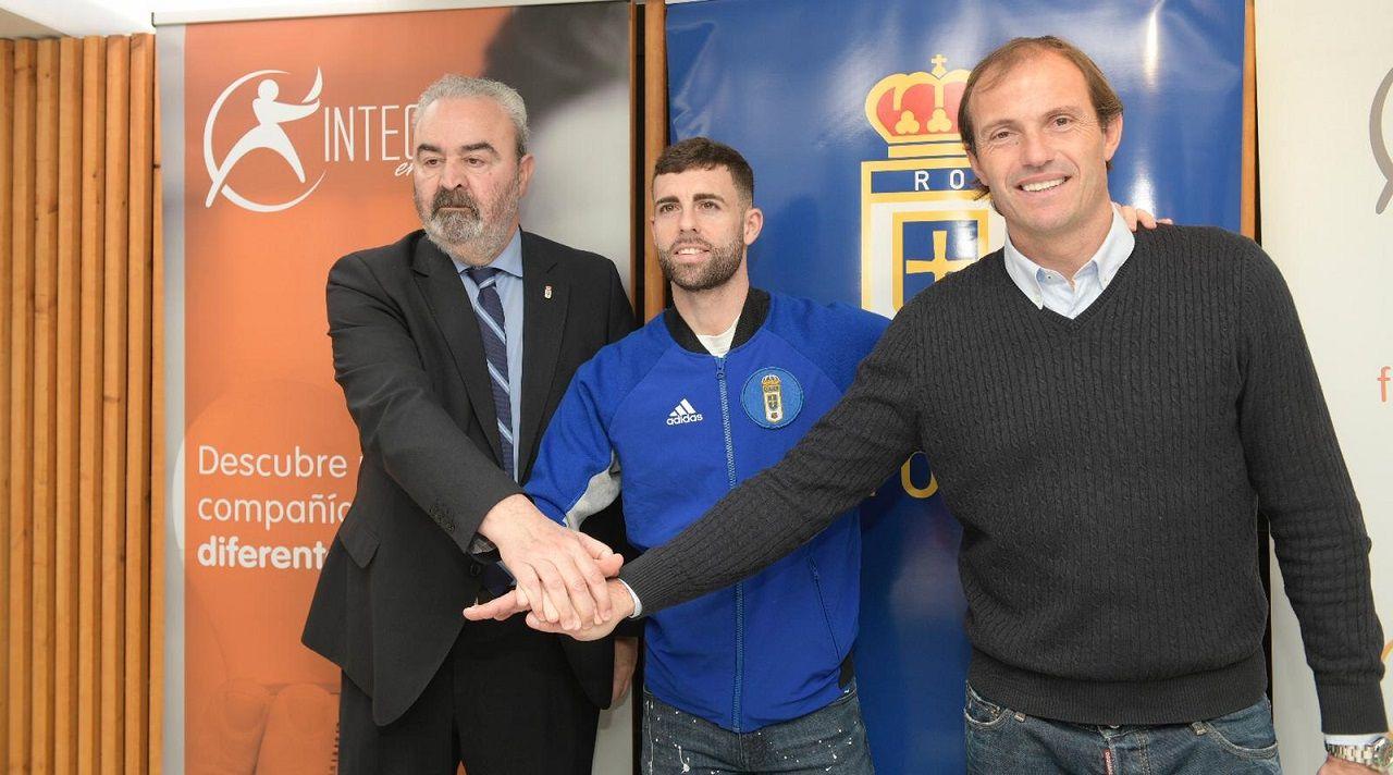 Manolo Paredes, Rodri Ríos y Francesc Arnau