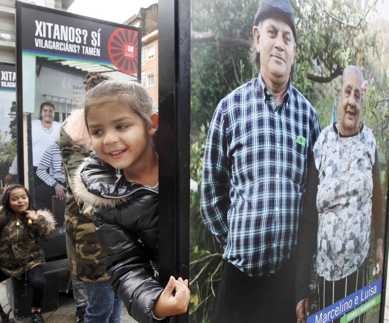 Día mundial del gitano. Vilagarcía acoge una exposición de fotografías de retratos con las familias del poblado de Berdón. La diversidad cultural nos enriquece