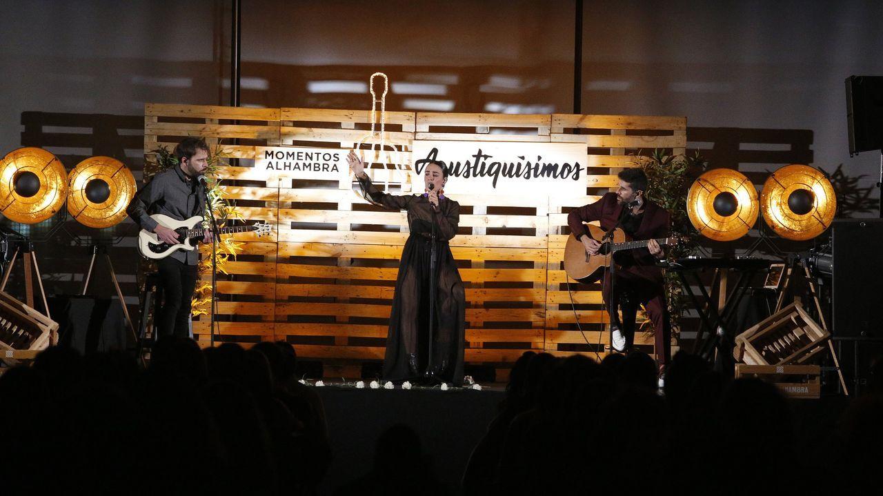 Concierto de Fuel Fandando en Palexco, en diciembre del 2020