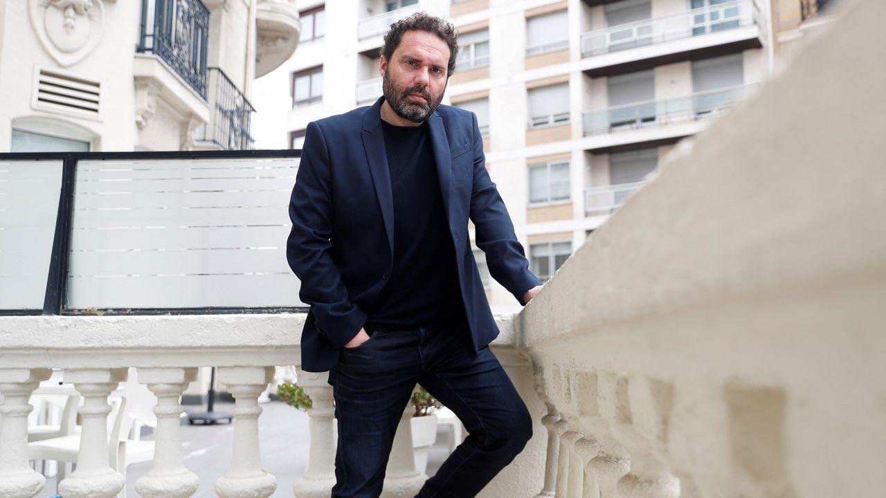 El productor Aitor Gabilondo