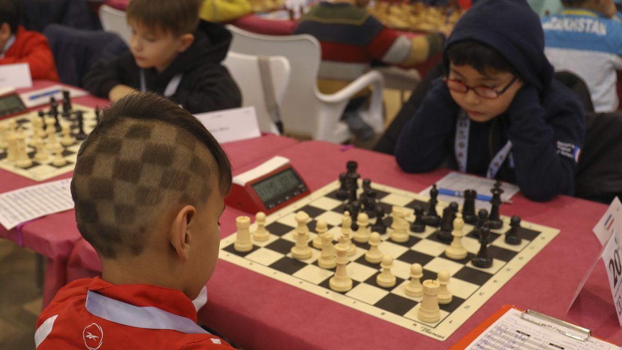 Santiago, epicentro mundial para los cadetes del ajedrez