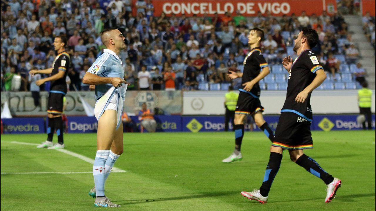 155 - Celta-Rayo de Primera (3-0) el 29 de agosto del 2015