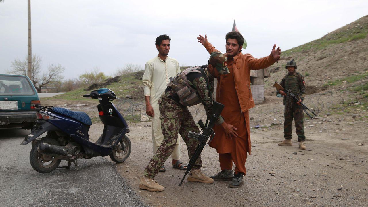Control de las fuerzas afganas en Nangarhar