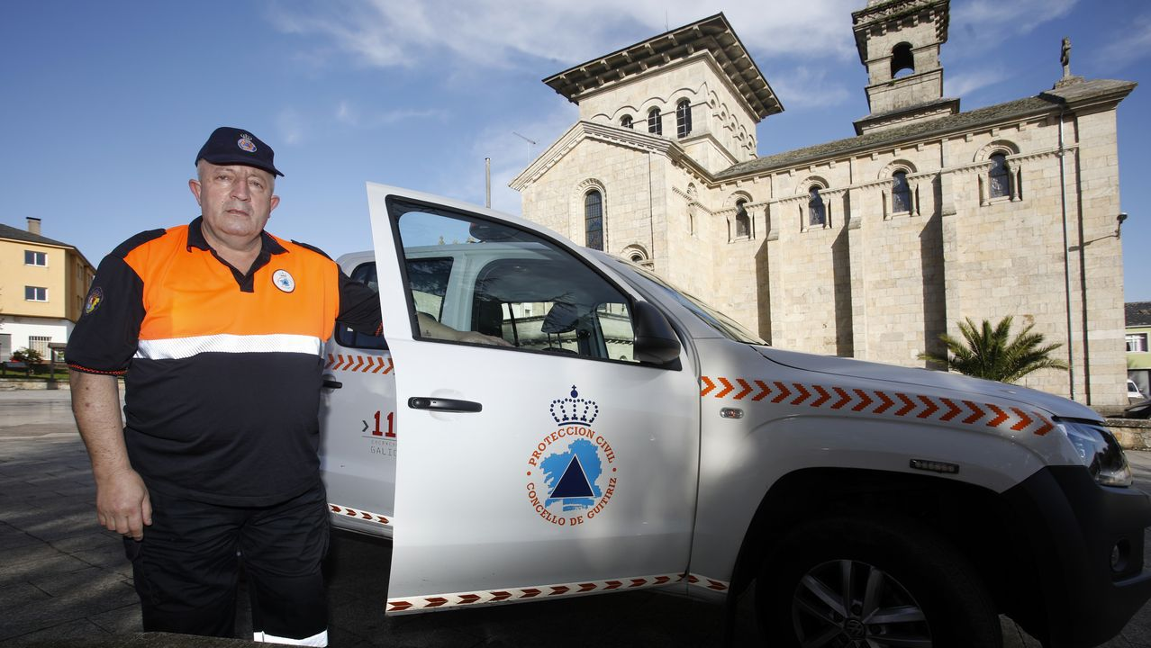 Agradecimiento al voluntariado de Culleredo.Jesus Fonte, nuevo presidente de Protección Civil de Guitiriz