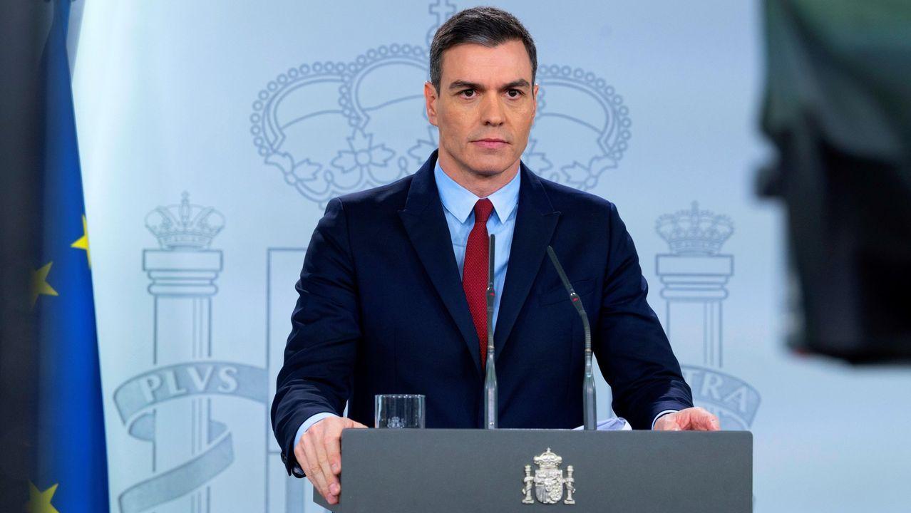 Declaración institucionalde Pedro Sánchez tras una semana en estado de alarma