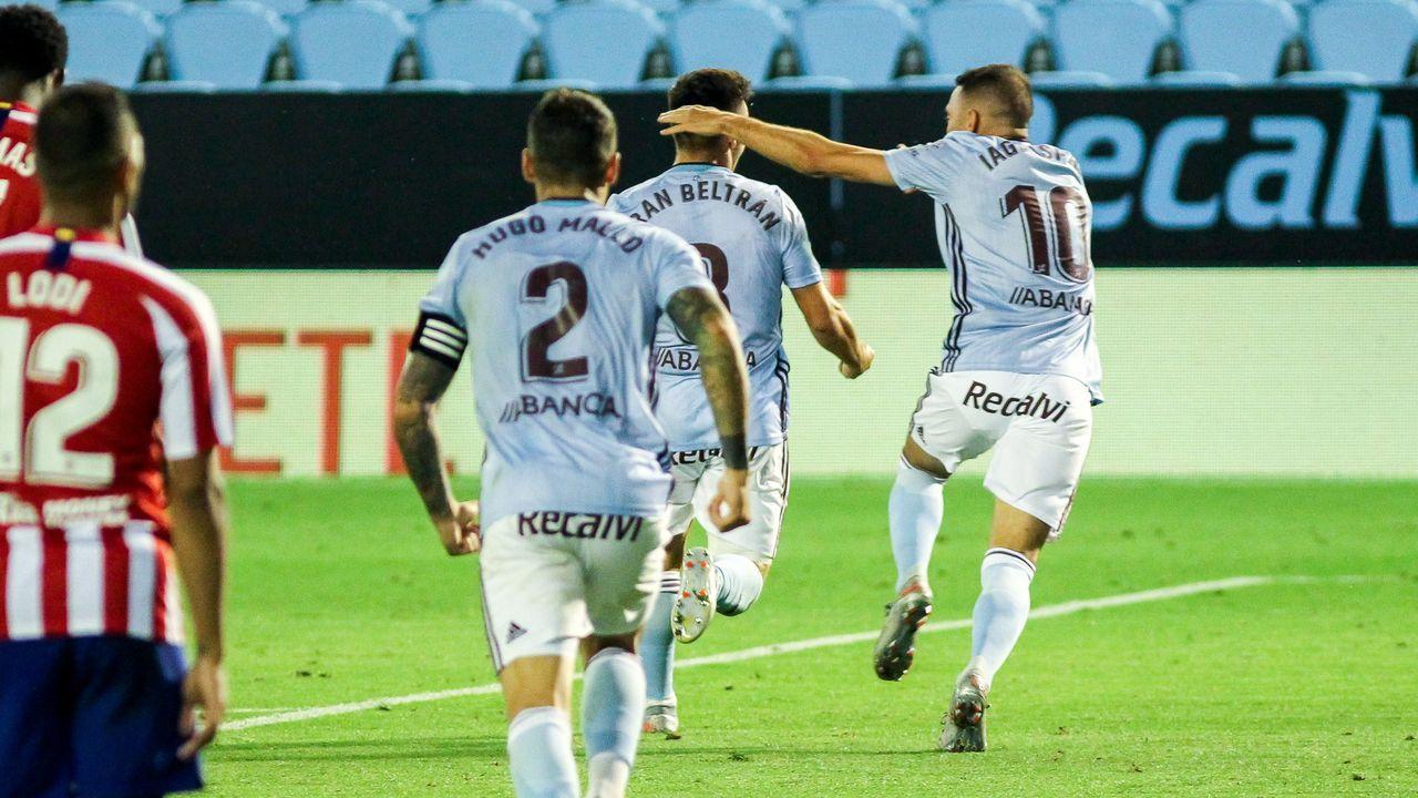 343 - Celta-Atlético (1-1) el 7 de julio del 2020