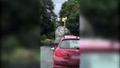 Video de la Guardia Civil conducción temeraria en la carretera de Guitiriz os Vilares