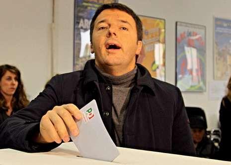 Renzi, alcalde de Florencia.