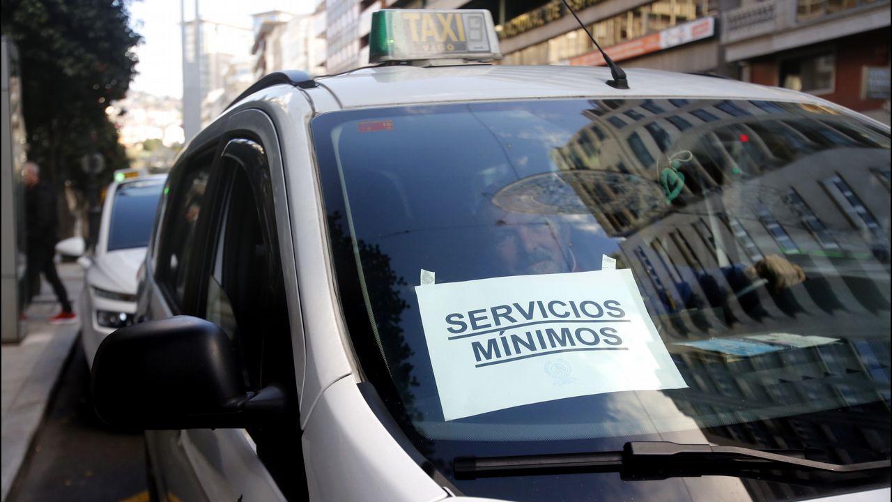 Servicios mínimos en Vigo
