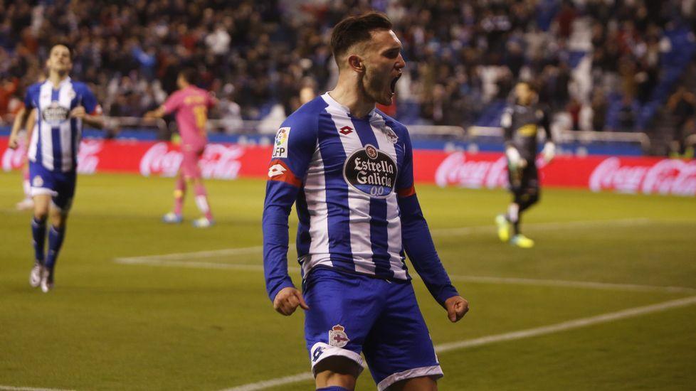 El Eibar-Deportivo, en fotos