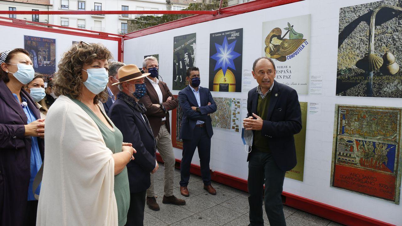 Muestra «Carteles para un Camino. Cien años de inspiración jacobea», en Pontevedra