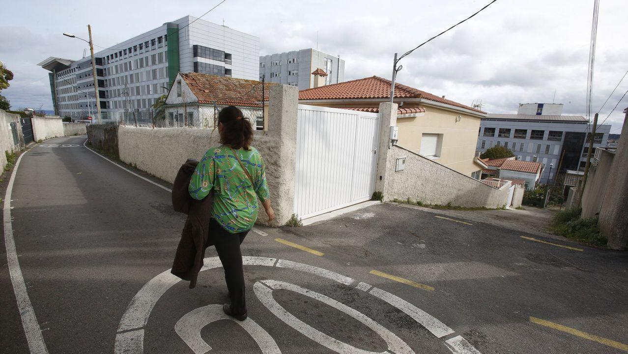 Acceso al Hospital Universitario A Coruña (Chuac)
