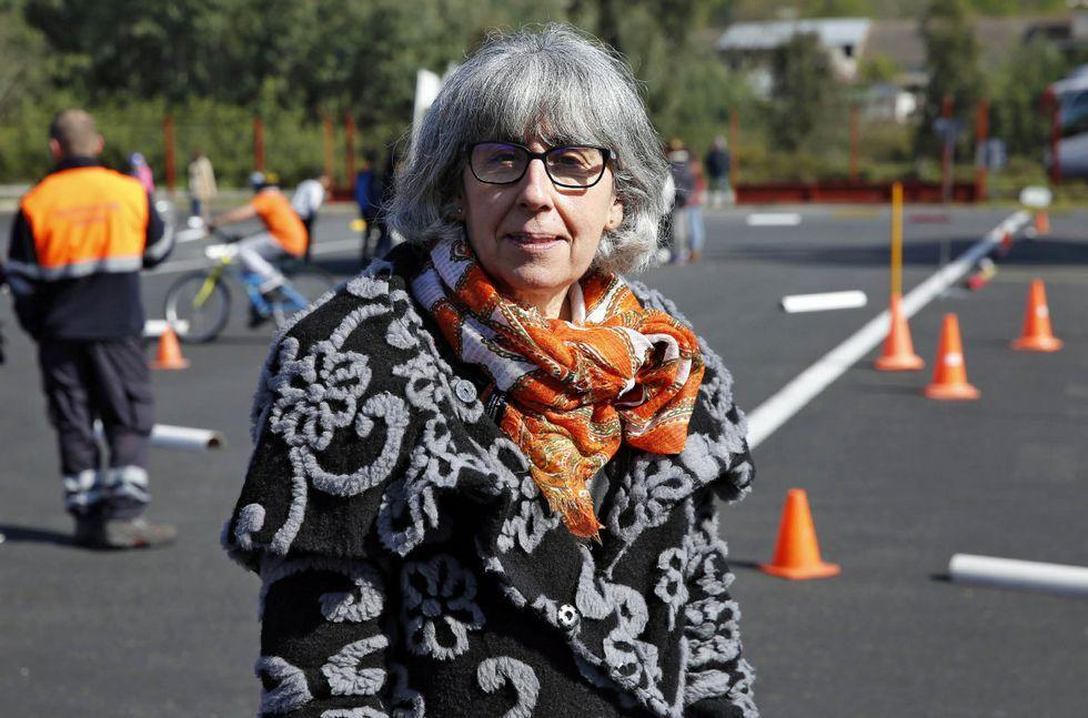 «Solo cinco constructoras se llevan el 75% de las obras».Sinda Aguiar, en las instalaciones de Tráfico en Santa Cruz.