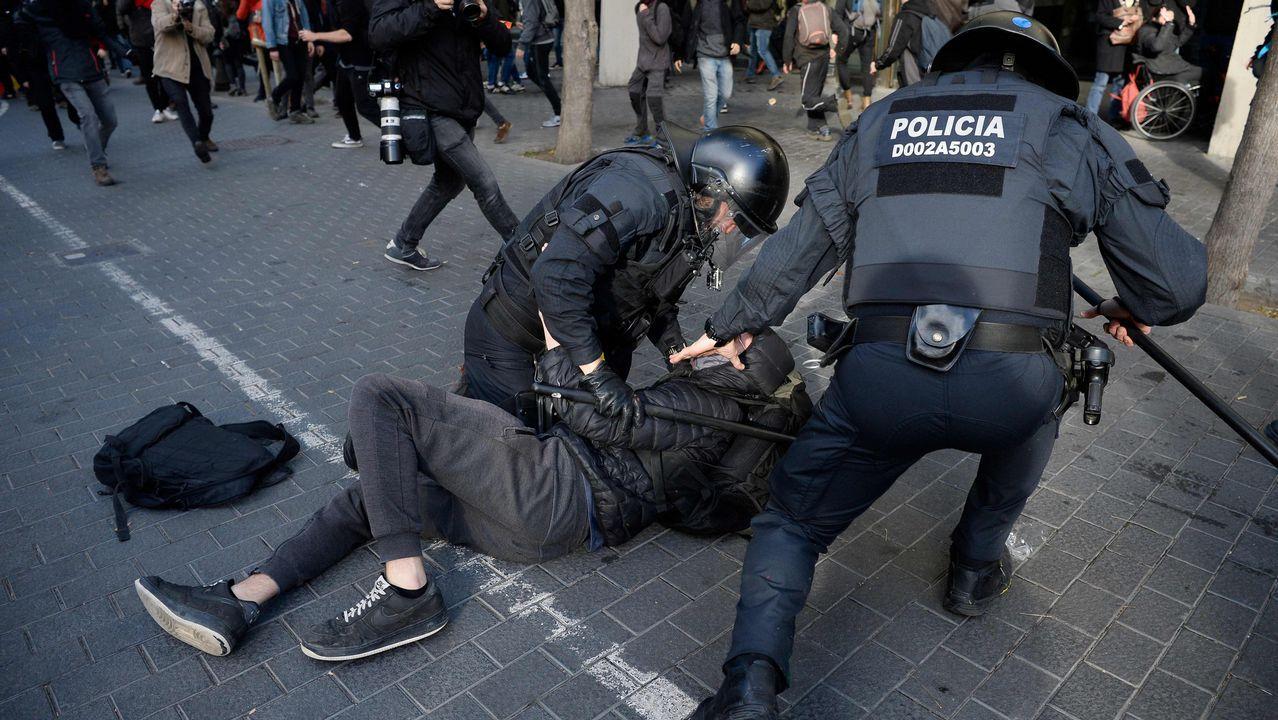 Uno de los detenidos por los Mossos