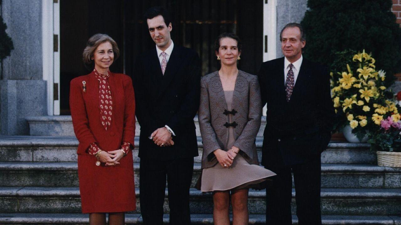 En el 2000 se anunciaba el compromiso de la Infanta Elena con Jaime de Marichalar