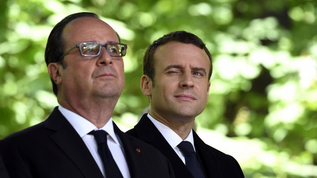 Hollande y Macron son dos de los ocho presidentes franceses elegidos tras la Segunda Guerra Mundial que se formó en las aulas de la ENA