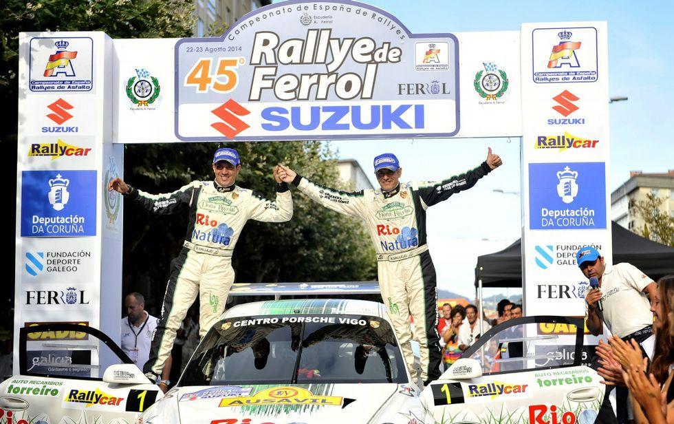 Los hermanos Vallejo fueron los ganadores de la pasada edición de la prueba ferrolana.