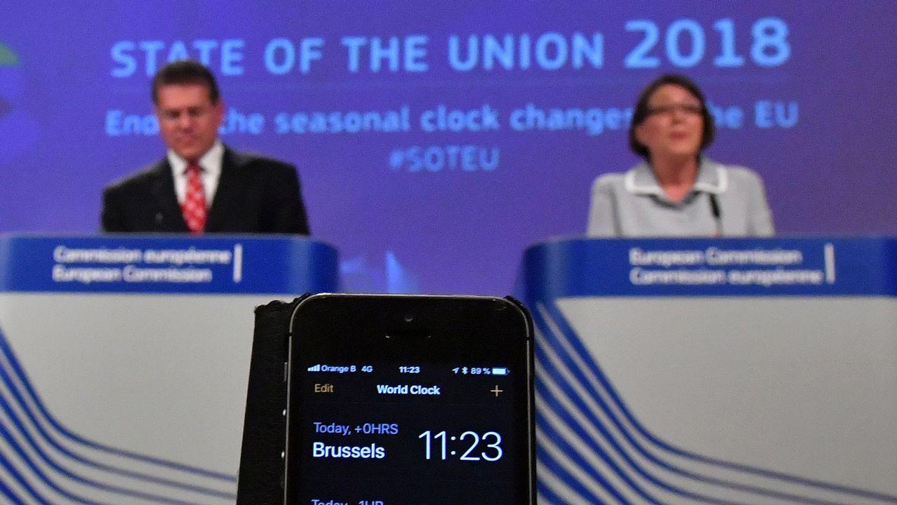 Juncker es el gran impulsor de la abolición del cambio de hora