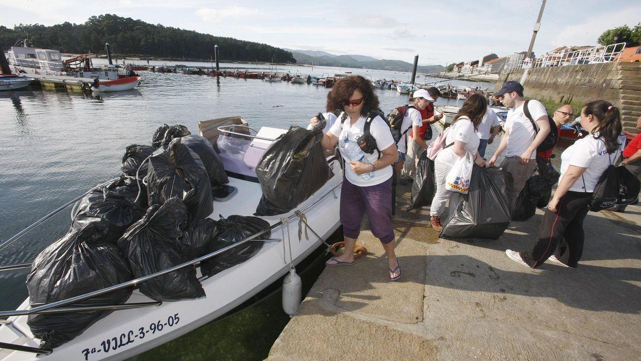 Fiesta piragüista en el Sil.Cabanas se asienta como sede de pruebas de kayak de mar