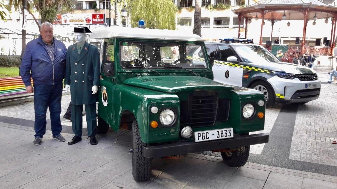 Vehículo oficial del concello de Outeiro de Rei recuperado en la tarde del miércoles
