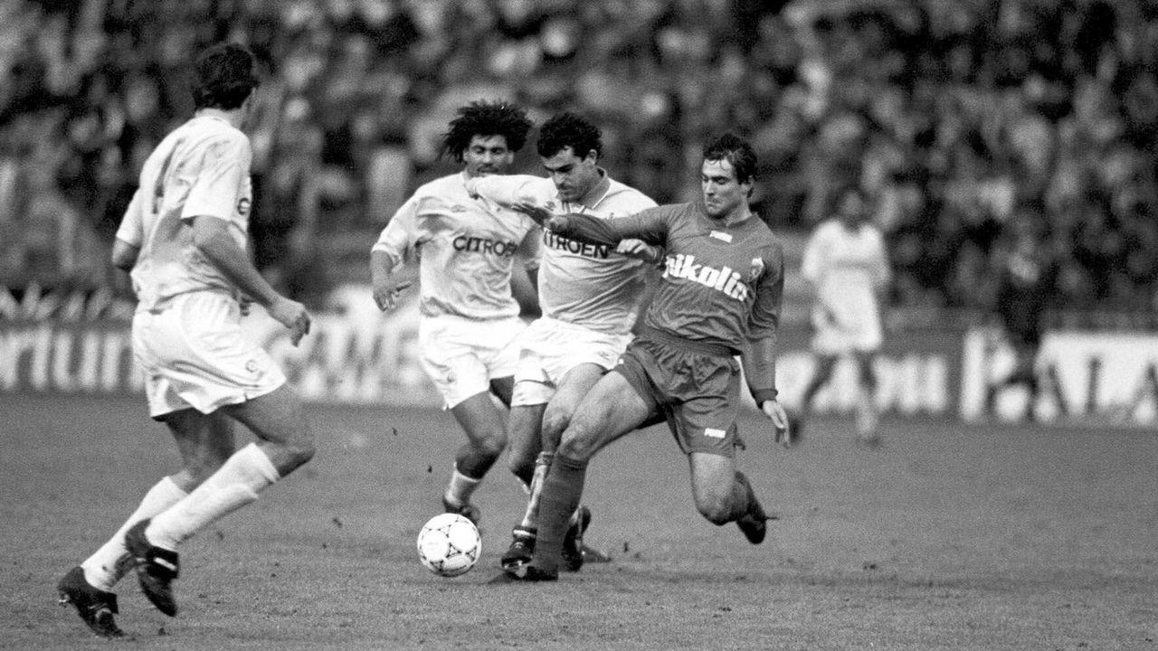 Final de Copa frente al Zaragoza en 1994