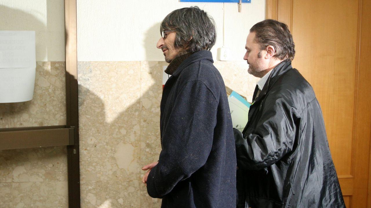 Imagen de archivo del traslado y puesta a disposición judicial del Congrio, en diciembre del 2012