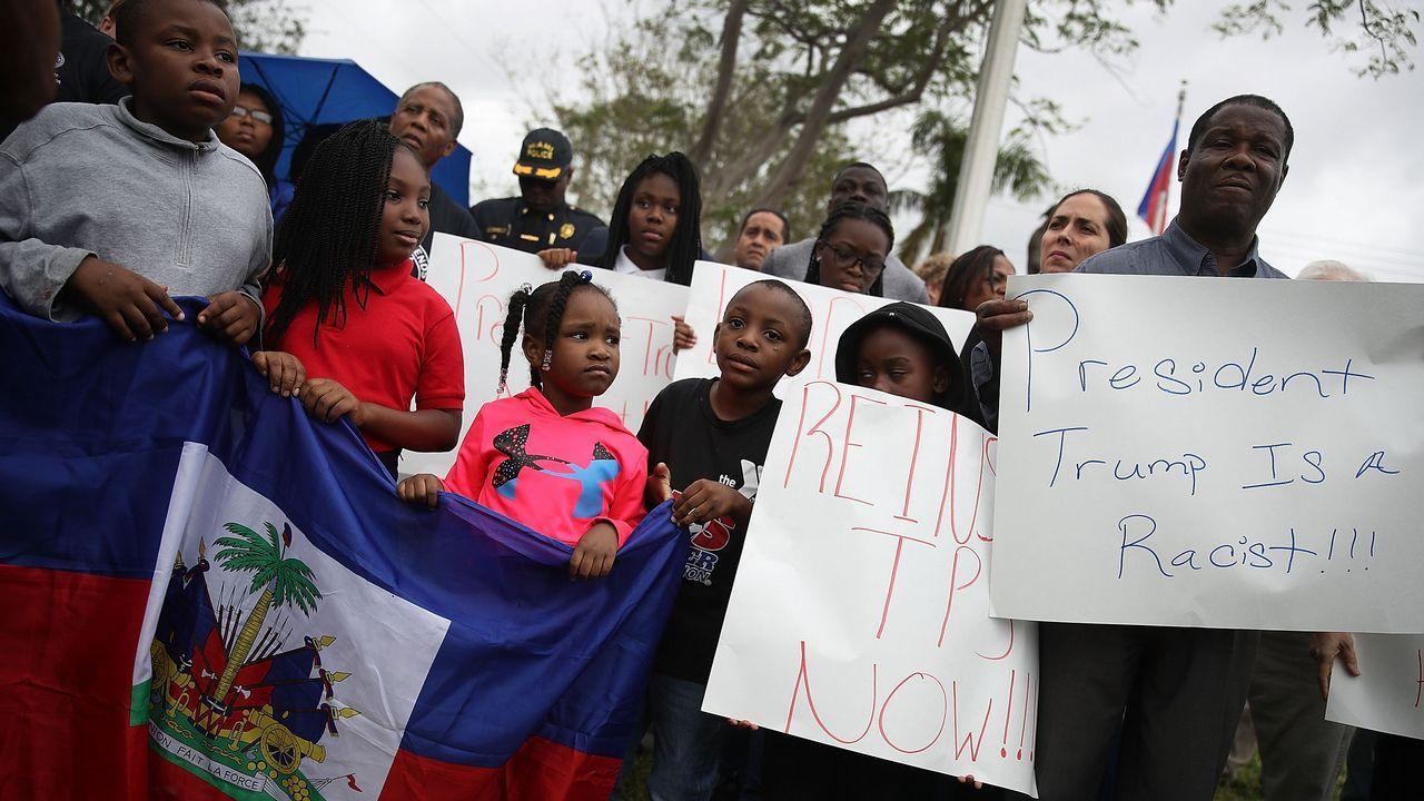Así es Namibia, el maravilloso «país de mierda».Protestas contra las declaraciones racistas de Trump