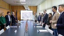 Reunión Xunta-Ayuntamiento por el proyecto del Novo Chuac