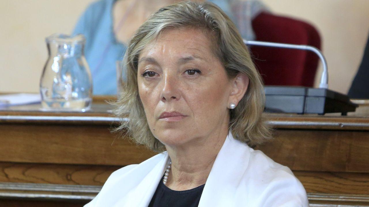 La concejala Paula Alvarellos