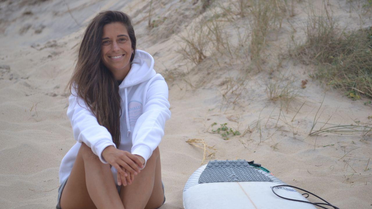 Blanca Lorenzo se formó en el club Grosso y trabajó como monitora para la escuela Valdo Surf