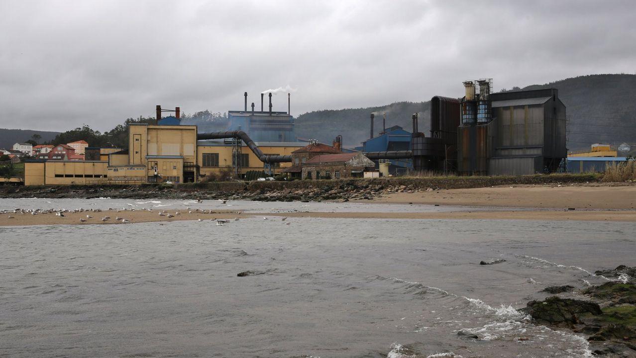 Planta de Ferroatlántica en Cee